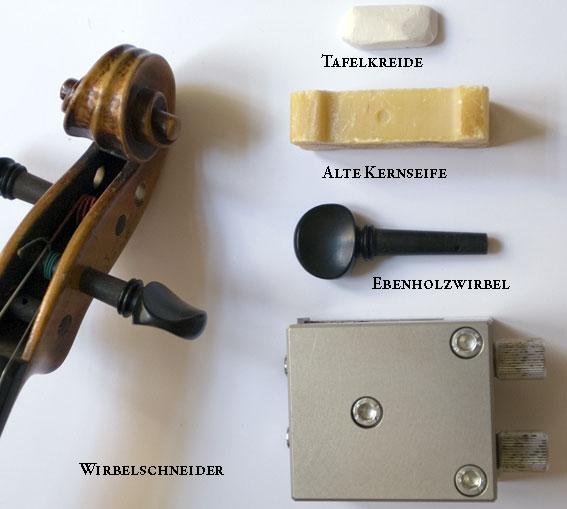 Werkzeug zum Wirbeleinpassen
